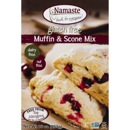 Namaste Foods Gluten-Free Muffin & Scone Mix, 16 (Cream Scone Mix)