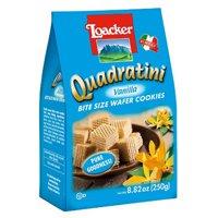 Loacker Quadratini Vanilla Cube Wafers, 8.8 oz