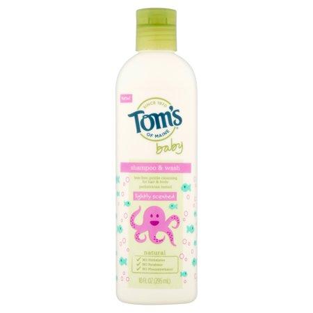 Tom's of Maine Lightly Scented Baby Shampoo & Wash 10fl oz