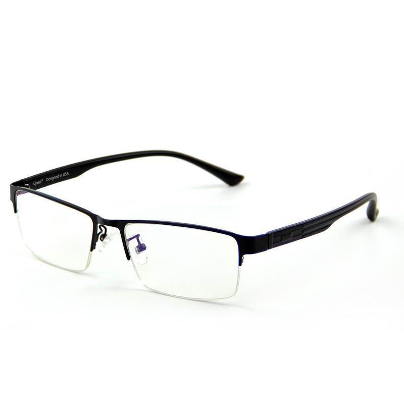 Cyxus Blue Light Blocking Semi-Rimless Computer Glasses Anti Eye Strain UV400 Metal Black Rectangle Frame Gaming Eyewear - Walmart.com at Walmart - Vision Center in Lewisburg, TN | Tuggl
