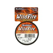 Beadalon Wildfire Thread: Black, .006 inch