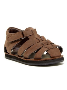 Cole Haan  kids Baby Boy's Mini Jaime Fisherman 2 (Infant/toddler) Brown Sandal