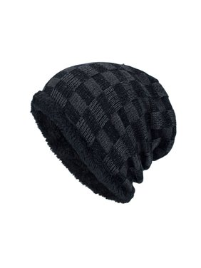 c243aed9256 Product Image Men Winter Outdoor Wool Knit Warm Hat Thick Soft Beanie Ski  Caps BK