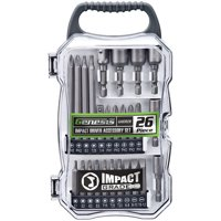 Genesis(TM) GAIDB26 26-Piece Impact Driver Accessory Set