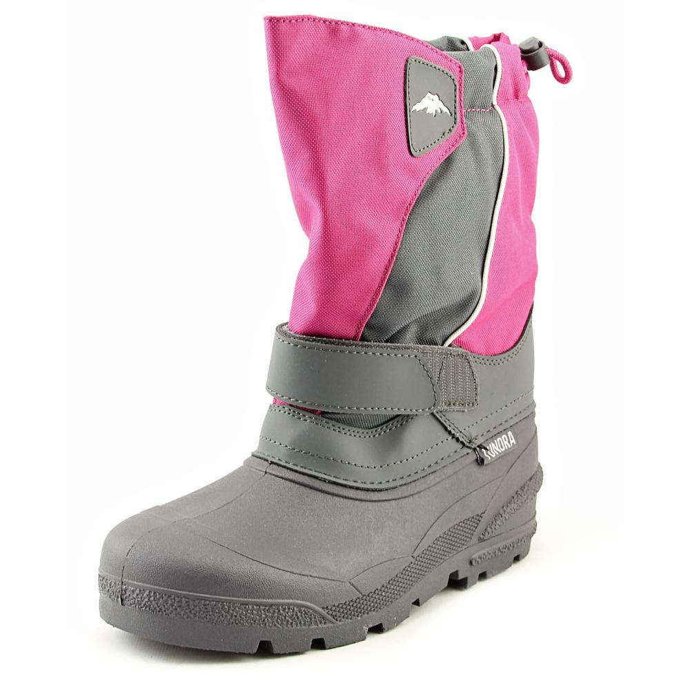 Tundra Quebec Youth W Round Toe Synthetic Gray Snow Boot
