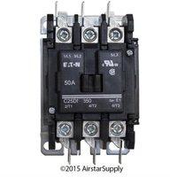 50 Amp / 3 Pole / 208-240V Coil , Eaton Cutler Hammer C25DNF350B Contactor