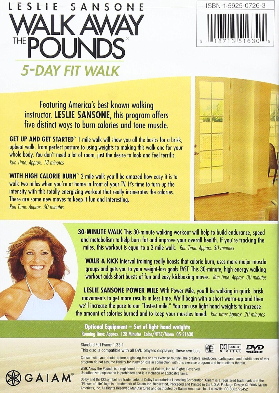 Leslie Sansone: Walk Away The Pounds 5 Day Fit Walk (DVD)