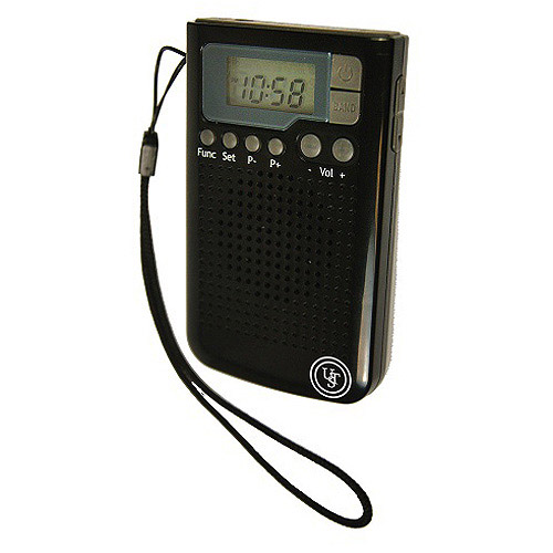 UST Weather Band AM FM Radio, Black by Ultimate Survival Technologies