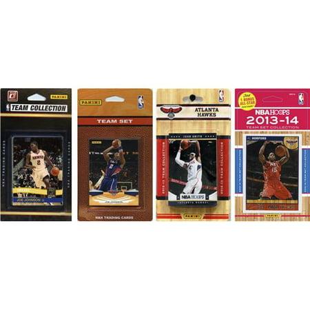 NBA Atlanta Hawks 4 Different Licensed Trading Card Team Sets - image 1 de 1