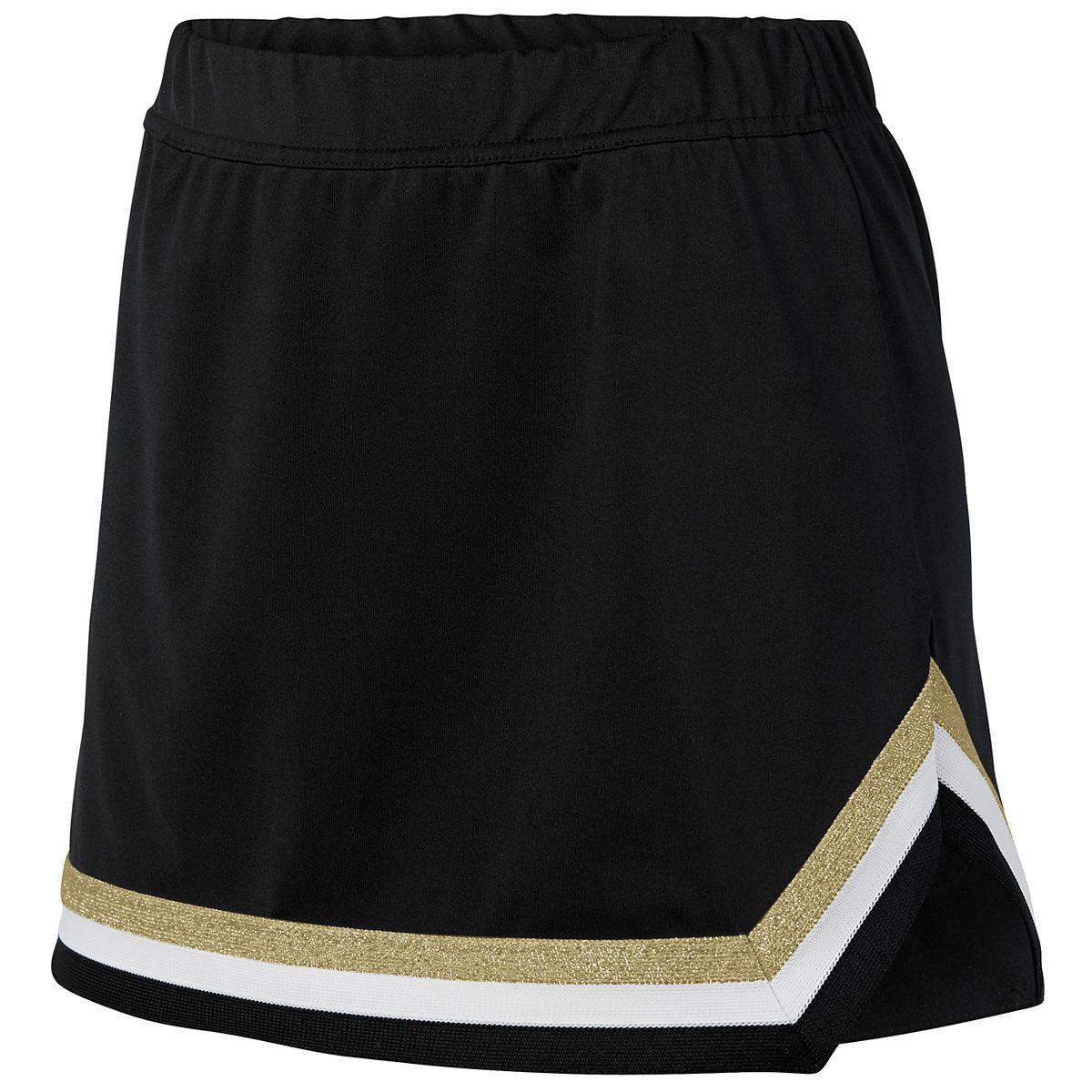 Augusta Girls Pike Skirt Bk/Wh/Mg M - image 1 de 1