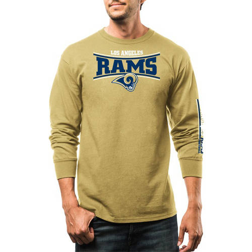 NFL Men's Los Angeles Rams Long Sleeve Tee