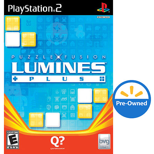 Lumines Plus (PS2) - Pre-Owned