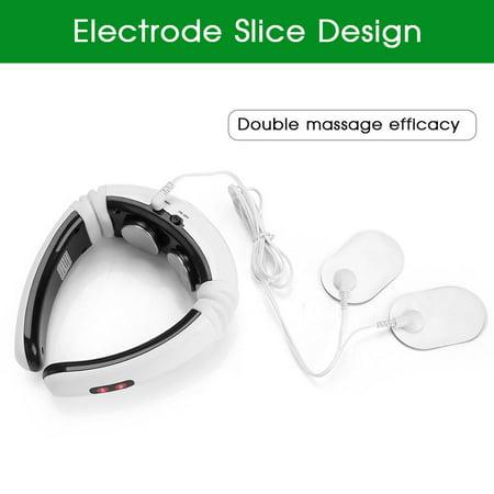 Garosa Electric Neck Massager, Electric Pulse Magnetic Neck Massager Cervical Vertebra Treatment Shoulder Relax, Neck Shoulder Massager - image 9 of 9