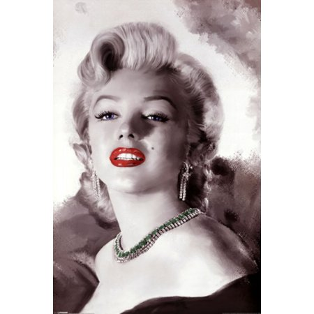 Marilyn Monroe - Diamonds Are a Girls Best Friend Poster Poster