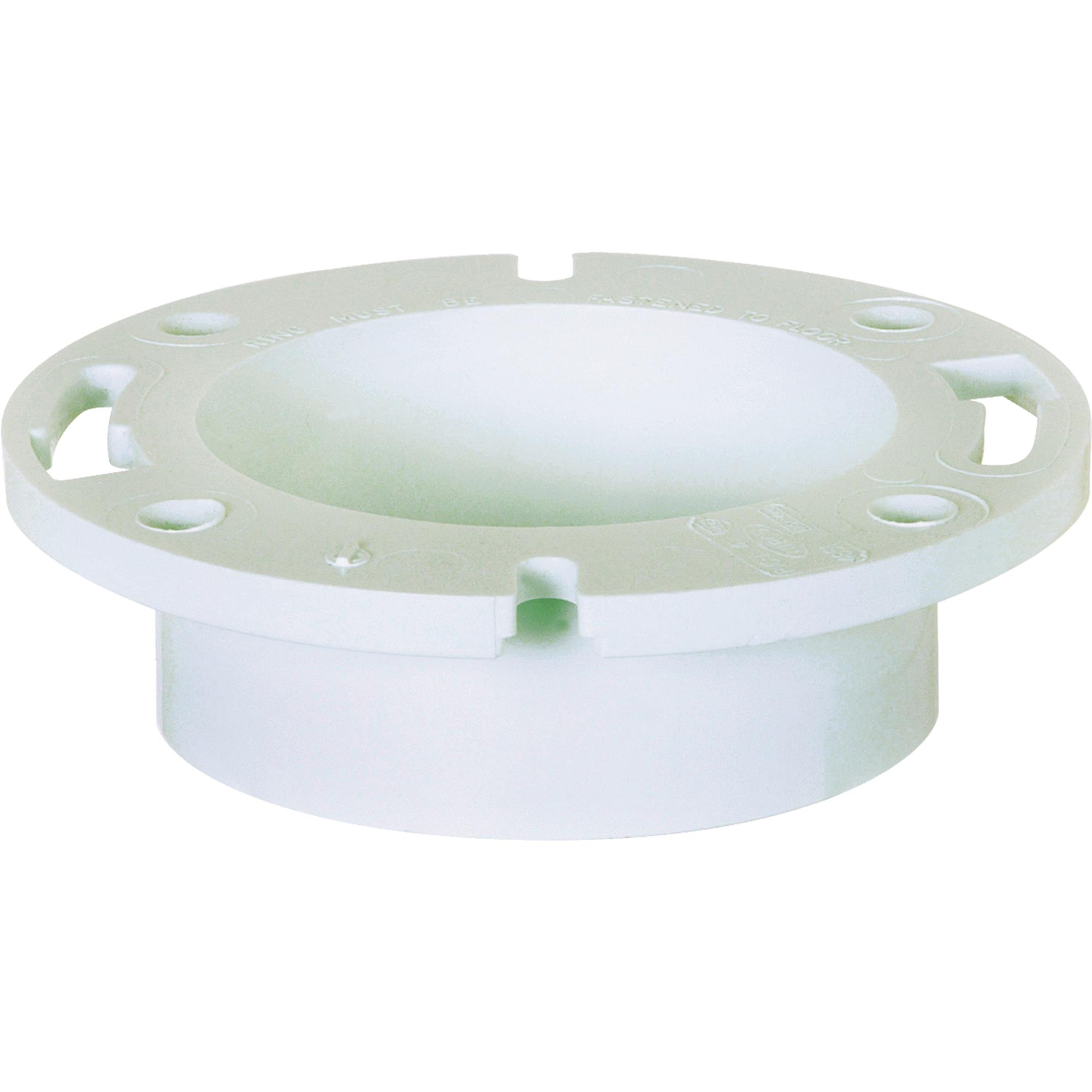 """Sioux Chief 4"""" HUB PVC Closet Flange by Sioux Chief"""