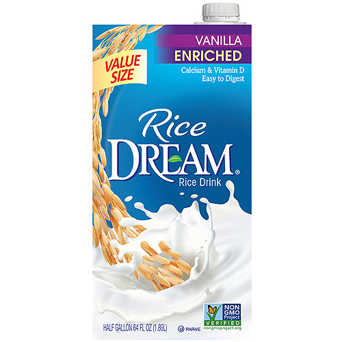 (8 Pack) RICE DREAM Enriched Vanilla Rice Drink, 64 fl. oz.
