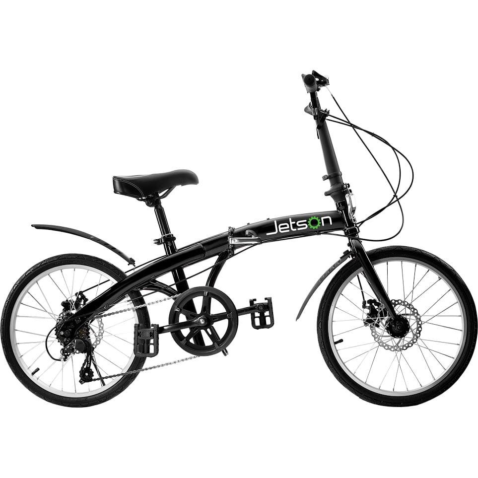 "Jetson Bike to Go 24"" Wheel Folding Bike, Black"