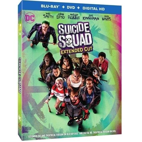 Suicide Squad (Blu-ray   DVD   Digital HD with UltraViolet)(Widescreen)