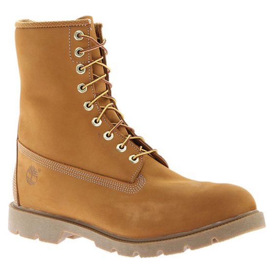 014e731699d Timberland 8-Inch Basic Waterproof Wheat Nubuck Men's Boots 10081