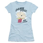 Family Guy - And Such - Juniors Teen Girls Cap Sleeve Shirt - Large