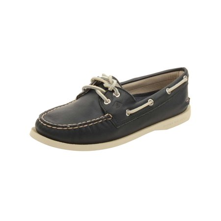 Sperry Womens A/O 2-Eye Boat Shoes in Navy