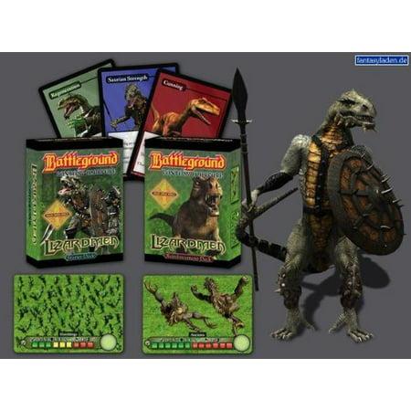 Battleground Fantasy Warfare  Lizardmen Multi Colored