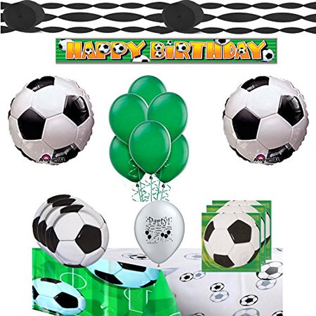 Soccer Party Supplies Complete Set Tableware and Balloon Bundle](Soccer Pinata)