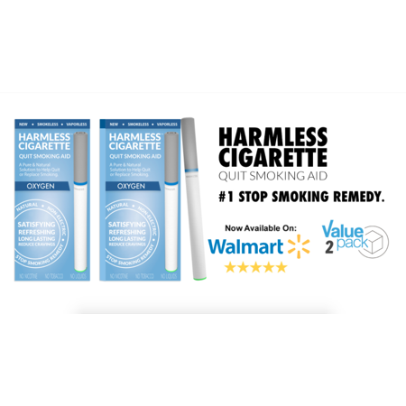 Harmless Cigarette / 4 Week Quit Kit / Stop Smoking Aid / Includes FREE Quit Smoking Support Guide.