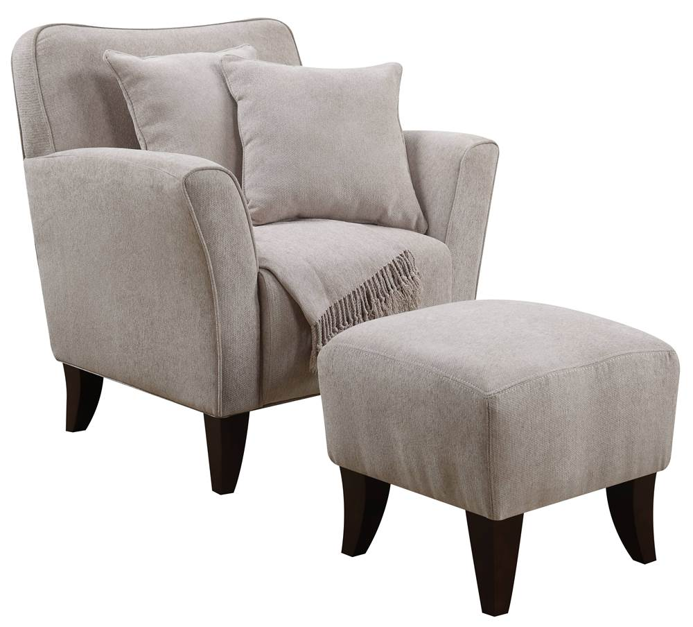 sc 1 st  Walmart & Batum Ivory Club Chair and Ottoman Set - Walmart.com