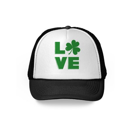 Awkward Styles Irish Shamrock Hat St. Patrick's Day Trucker Hat Irish Gifts St Patrick's Day Hat Irish Party Lucky Charm Green Hat for St. Patrick's Day Party Ireland Trucker Hat Baseball Cap Gifts