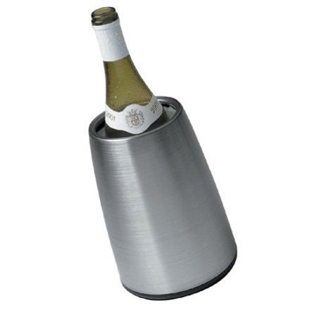 Vacu Vin Active Cooler Wine Elegant Stainless Steel In Gift Box