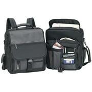Goodhope  3-Way Convertible 15-inch Laptop Backpack/Messenger Bag