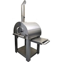 Western Pacific Pizza Oven Outdoor Artisan BBQ Wood-Fired Stone Bake 31 Inch W Commercial Stainless Steel - Cooking Accessories - Cover - Model SYM01