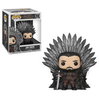 Funko POP! Deluxe: GOT S10 - Jon Snow Sitting on Iron Throne