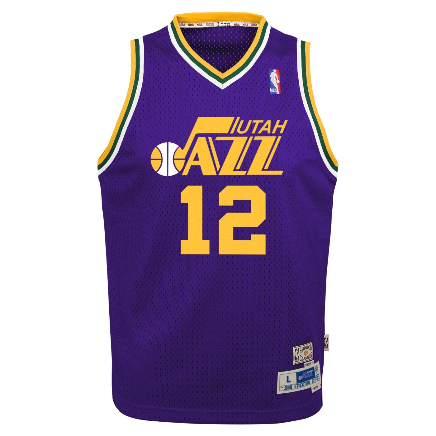 90c5c96e331 ... john stockton utah jazz nba youth throwback swingman jersey