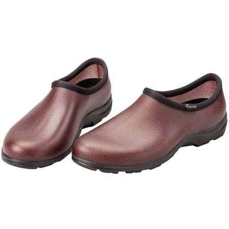 Sloggers Men's Rain & Garden Shoes - Leather (Mens Dress Shoes Leather Or Rubber Sole)