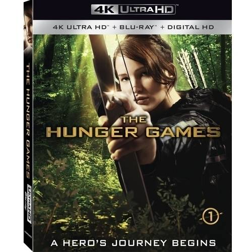 The Hunger Games (4K Ultra HD + Blu-ray + Digital HD) (with INSTAWATCH) (Widescreen)