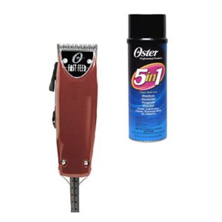 Oster Fast Feed Clipper Plus 5 In 1 Blade Care (Oster Fast Feed Vs Wahl 5 Star Senior)