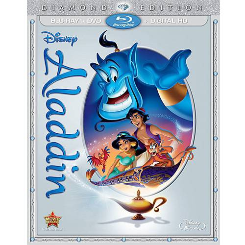 Aladdin: Diamond Edition (Blu-ray + DVD + Digital HD) (Widescreen)
