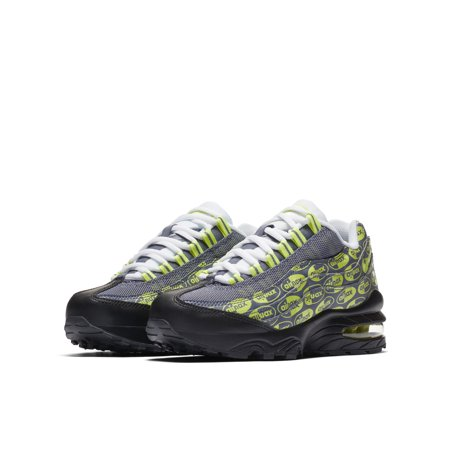 best sneakers 57b1a 78d46 Nike - NIKE AIR MAX 95 SE (GS) BOY S SNEAKERS 922173-004 - Walmart.com