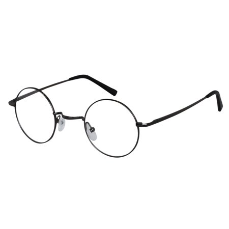 Ebe Reading Glasses Mens Womens Round TR90 Anti Glare Light Weight Comfort Fit zsm5500 (Mens Reading Glasses Round)