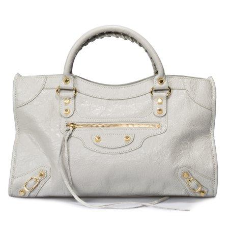 7df840b294 Balenciaga Classic City Bag | Gris Glace with Gold Hardware | Medium -  Walmart.com
