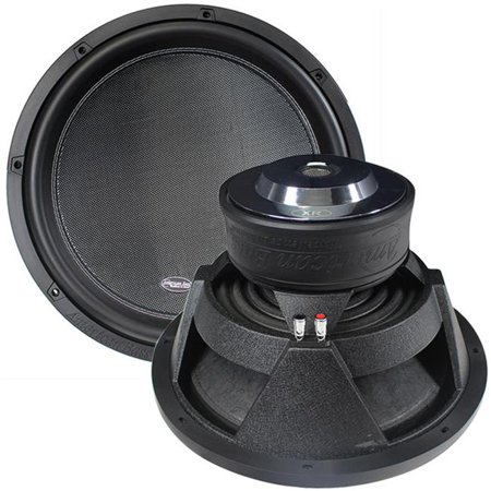 Dual 2 Ohm Voice Coils (American Bass XR15D2 15 in. 3000 watt Dual 2 Ohm 3 in. Voice)