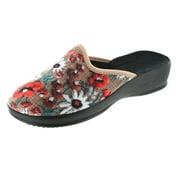 Women 39 s bedroom slippers - Ladies bedroom slippers with heel ...