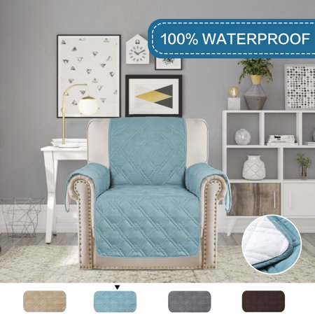 Surprising 100 Waterproof Furniture Protector Stay In Place With Plastic Drop Printing Protect From Dogs Cats Spills Wear And Tear 79 X 68 For Recliner Gmtry Best Dining Table And Chair Ideas Images Gmtryco