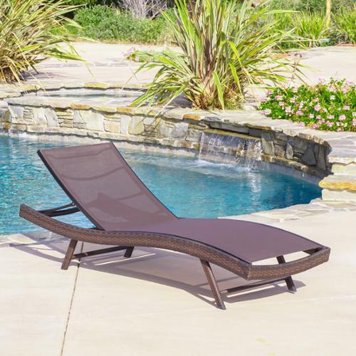 Maui Textilene Chaise Lounge (Single)