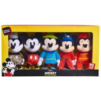 5 Pack Mickey's 90th Bean Collector Set