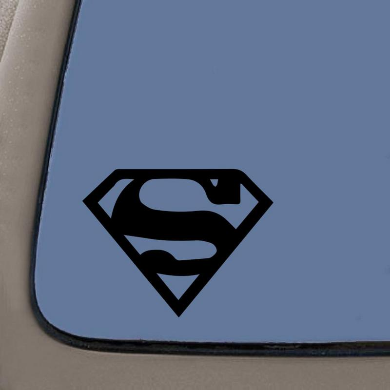 "Truck//Car Sticker Decal Window Laptop 6/"" Superman Personalized Wall"