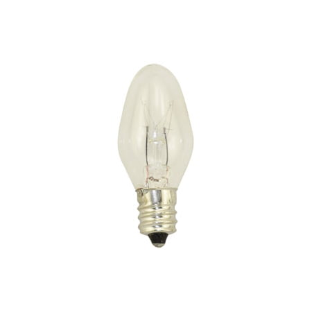 Replacement for GE  GENERAL ELECTRIC  G.E LONG LIFE NIGHT LIGHT BULBS 4 W C7 10 PAK replacement light bulb -