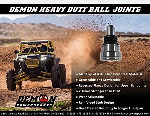 2014-19 2016-19 2012-19 2013-19 Demon Heavy Duty Upper Ball Joint for Canam Commander Defender 2013-18 Outlander Maverick Renegade